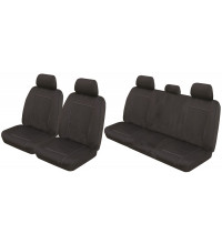 Neotrek Neoprene Ready Made Seat Covers - Ford Ranger PX Dual Cab XL XLS XLT