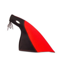HANDBRAKE GEARBOOT LEATHER RED