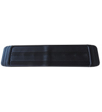 Streetwize Floor Mats Portland One Piece Rear Black Rubber