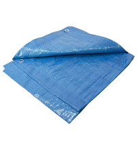 POLYETHYLENE TARPAULIN 4FT X 6FT BLUE