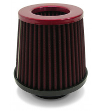 SAAS Metal Cap Air Filter Red 75mm Neck