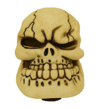 SAAS Skull Gear Knob Cream Large