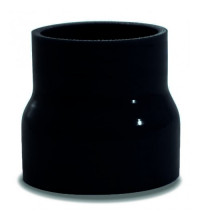 SAAS Straight Silicone Hose Reducer 57x76x76mm Black