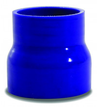 SAAS Straight Silicone Hose Reducer 51x63x76mm Blue