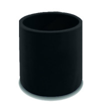 SAAS STR Silicone Hose 63 X 63 X 76mm Black