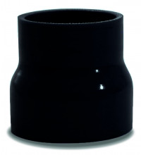 SAAS Straight Silicone Hose Reducer 63x70x76mm Black