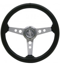 SAAS PVC Retro Steering Wheel 350mm