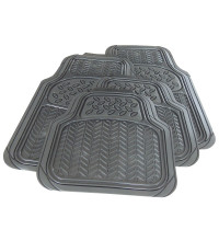 Streetwize Atlanta Floor Mats Charcoal Rubber - Set of 4