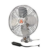 "Streetwize Metal Fan 8"" Chrome"