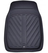 Streetwize Leather Deep Dish Front Floor Mats