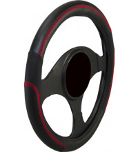 Streetwize Speedway Black/Red Steering Wheel Cover