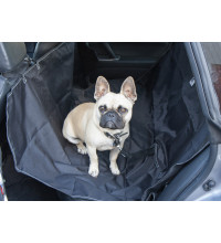 Streetwize Rear Pet Seat Cover Hammock Black