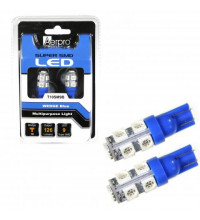 Aerpro T10 Wedge Blue 9 SMD LED Globe Replacements