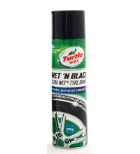 Turtle Wax Wet 'N' Black Ultra Wet Tire Shine 375G