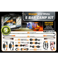 Korr 5 Bar LED Camp Light Kit Orange/White