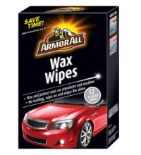 ARMOR ALL WAX WIPES 12PK