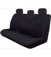 Wet N Wild 06H Black/Blue Stitch Seat Cover