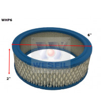 Wesfil Sports Air Filter 6X2In High