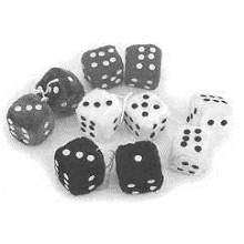 """Speco Fluffy Dice 2 1/2"""" Pink"""