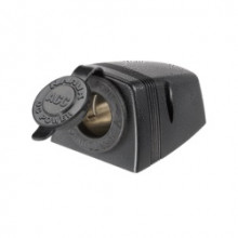 NARVA Surface Mount Accessory Socket 12V Blk