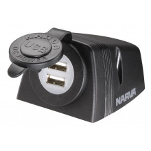 Narva Dual Usb Hdrv Socket Surface Mount