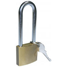 Built Long Shackle Brass Padlock 50mm