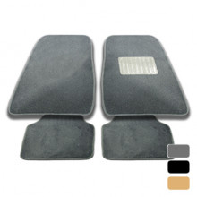Streetwize Boston Floor Mats - Carpet Grey Set of 4