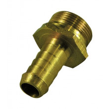 TFI Racing Performance Connections: Brass Fitting 1/2IN Fitting HOLLEY BOWL SP43987
