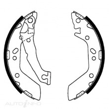 Bendix Brake Shoes Bendix SP102491