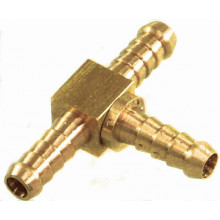 TFI Racing Performance Connections: Brass Fitting 5/8 Brass Tee Piece SP44073