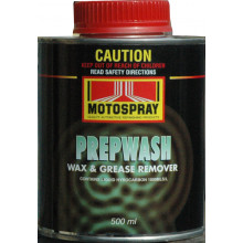 Motospray Prepwash Wax & Grease Remover 500ML