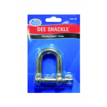 Ark D-Shackle 6mm Stainless Steel