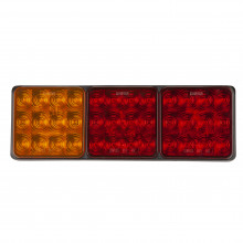 LED LGE REAR TRAILER LAMP COMBO 10-30V STOP/TAIL IND 282X92X30
