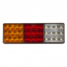 LED LGE REAR TRAILER LAMP COMB 10-30V STOP/TAIL/IND 282X95X30MM