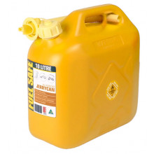 Fuel Safe Plastic Fuel Can 10L Yellow