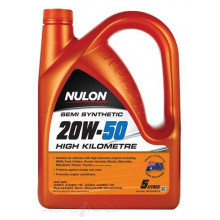 NULON ENGINE OIL HIGH KILOMETRE 20W50 5L