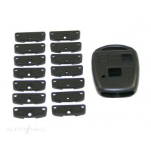 May Key Remote Shell Suitable For Toyota 2 Button