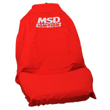 MSD Ignition Red Throw Over Seat Cover