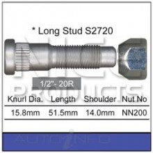 Wheel Stud & Nut Set
