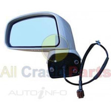 All Crash Parts Door Mirror LH Electric C11 Tiida 4/5Dr 2/06-11/09 SP132184