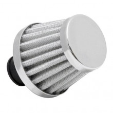BREATHER FILTER 9MM CHROME