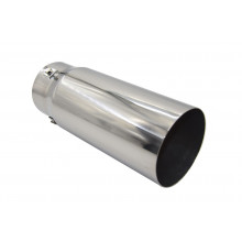 EXHAUST TIP STRAIGHT CUT 52-76MM