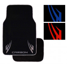Road Gear Carpet Mat Carbon Blade Set 4 Red