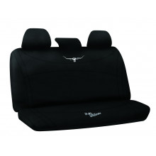 RM WILLIAMS NEOPRENE SEAT COVERS BLACK 06 REAR MULTI ZIP