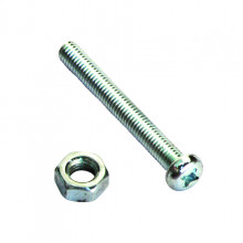 SCREWS AND NUTS 4 X 10MM