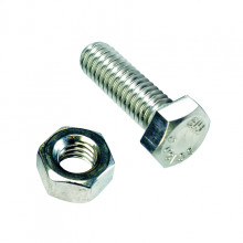 SET SCREWS AND NUTS 4 X 20