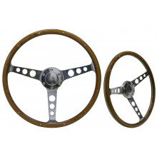 SAAS Classic Steering Wheel Polished 15""