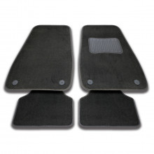Streetwize Utah Series Carpet Floor Mats Black