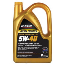 Nulon Passenger & Light Commercial 5W40 6L Engine Oil