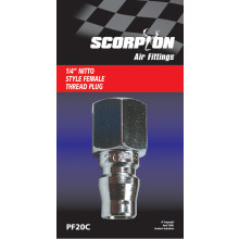 Scorpion Air Hose Fitting Nitto Female Plug